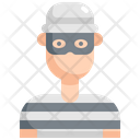 Thief Robber Criminal Icon