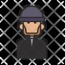 Thug Thief Man Icon