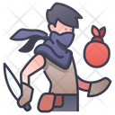 Character Rpg Thief Icon