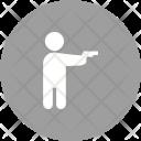 Holding Pistol Thief Icon