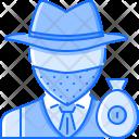 Thief Bag Money Icon