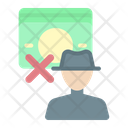 Criminal Man Thieft Icon