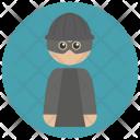 Burglar Thief Icon