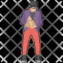 Thief Terrorist Criminal Icon