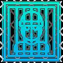 Bar Jail Prison Icon