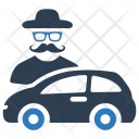 Thief Auto Burglar Icon