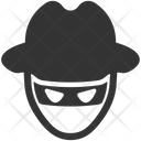 Crime Hacker Thief Icon