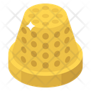 Metal Cap Thimble Protector Icon