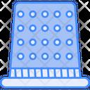 Thimble Sewing Needle Icon