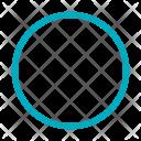 Circle Thin Circled Icon