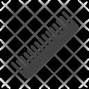 Thin comb Icon