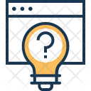 Think Question Idea Icon