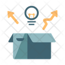 Think Outside Box Icon