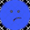 Think Emoji Expression Icon