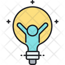 Think Big Light Bulbidea Icon