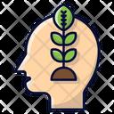 Think Green Sustainable Sustainability Icon