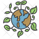 Think Green Ecology Ecologist Icon