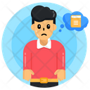 Think Of Learning Think Of Education Book Thoughts Icon