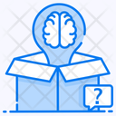 Think Outside Box Lateral Thinking Logical Thinking Icon