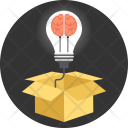 Think outside the box Icon
