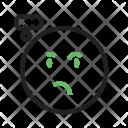 Thinking Emoji Face Icon