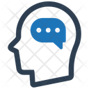 Head User Chat Icon