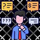 Thinking Buke Business Icon