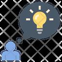 Thinking Idea Genius Icon