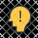 Thinking Mind Error Icon