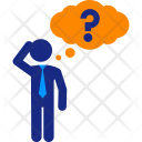 Thinking Thinker Cuestion Icon