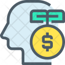 Money Idea Thinking Icon