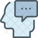 Thinking Message Chat Icon