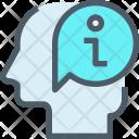 Thinking Human Mind Icon