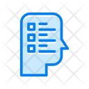 Thinking Survey List Icon