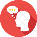 Thinking Talking Chat Icon