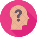 Thinking Question Mark Icon