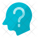 Thinking Head Question Icon