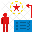 Thinking Thoughtful Checklist Icon