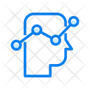 Thinking Graph Business Icon