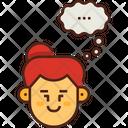 Thinking Mind Idea Icon