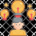 Thinking Business Mind Icon