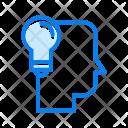 Thinking Lamp Idea Icon