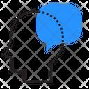 Thinking Message Speech Bubble Icon