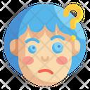 Thinking Emoji Emoticons Icon