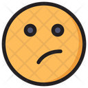 Thinking Emoji Expression Icon