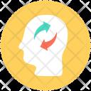 Thinking Human Head Icon