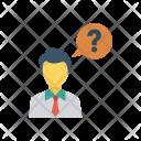 Idea Thinking Student Icon