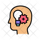 Thinking Mind Practical Practical Solution Icon