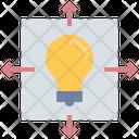 Thinking Outside Box Icon
