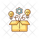 Thinking Outside The Box Icon